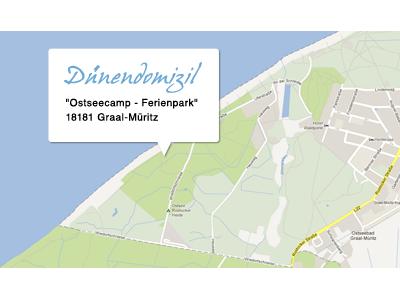 lage Duenendomizil Ferienhaus Graal Mueritz Ostsee
